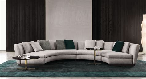 Runde Sofas Modern by Upholstered Sofa Seymour By Minotti Design Rodolfo