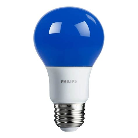 non dimmable led lights philips 60 watt equivalent blue a19 non dimmable autism