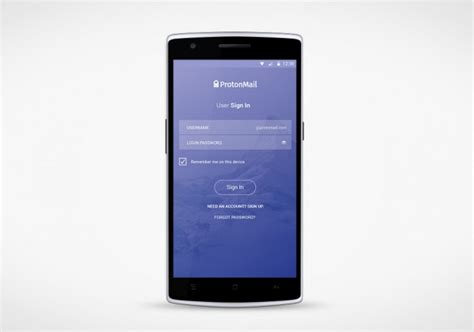 android mail app android protonmail support