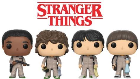 Stranger Things 2 Funko Pops Ghosbuster Dustin, Mike ...