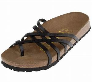 Papillio Leather Multi Comfort Sandals With Toe Ring