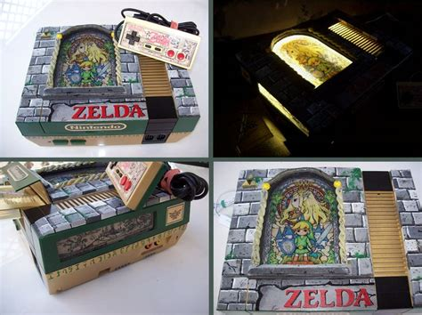 Stained Glass Zelda Custom Nes By Mbtaylorproductions On