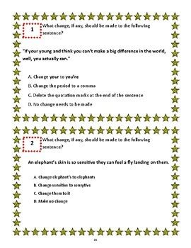 Get here all details of ctet answer key december. 4th Grade STAAR Writing Practice Passages and Task Cards by Lessons Right Meow