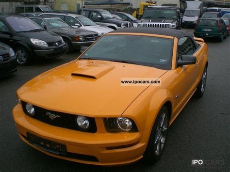 ford mustang gt premium convertible   leather