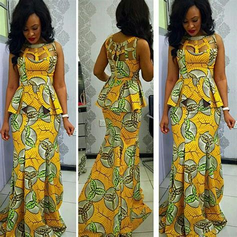 Asoebi Ideas: Look Chic And Glam In Ankara ? Complete Fashion