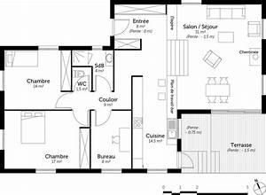 Plan maison a demi niveau ooreka for Maison demi niveau plan