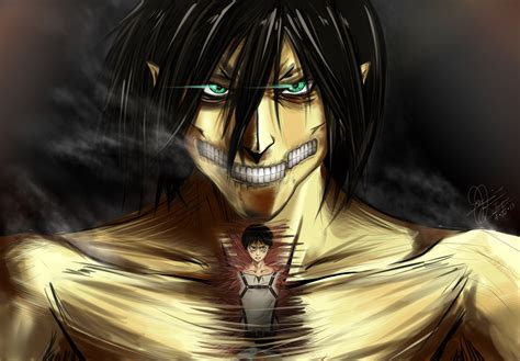 attack  titan wallpaper eren  wallpapersafari