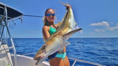 fishing florida offshore cobia biggest