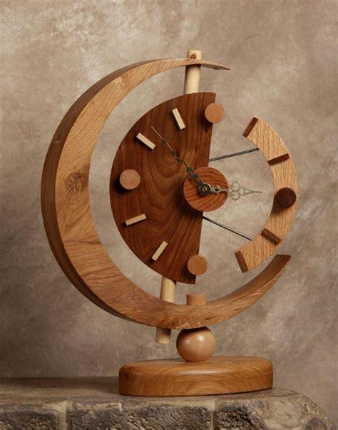 unique wooden clock ideas  pinterest wood clocks