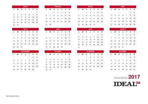 calendario laboral de calendarios ideal dias festivos