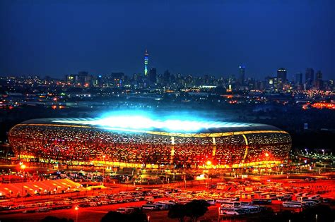 """All you need is an fnb account and be registered for cellphone banking. """"V I E W B I G !!! SoccerCity / FNB Stadium @Night"""" by ..."""