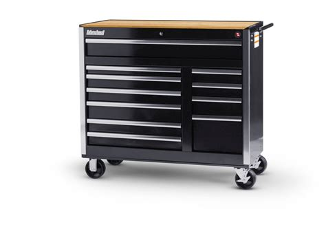 home depot tool cabinet international black tool cabinet with wooden work surface