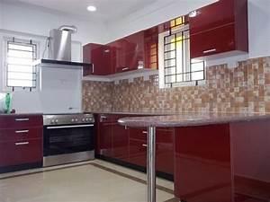 modular u shaped kitchen designs for indian house with an With modular kitchen designs u shaped