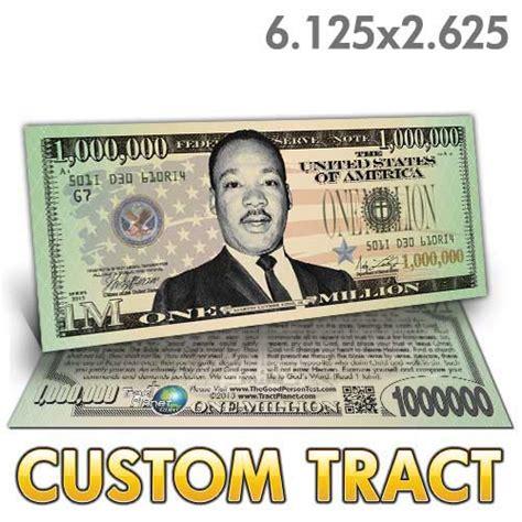 custom tract mlk million
