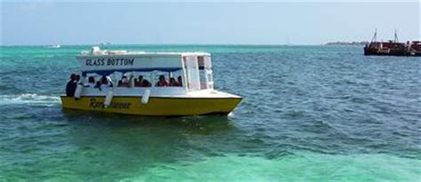 Glass Bottom Boat Tours Belize by Reef Runner Glass Bottom Boat Ambergris Caye Belize