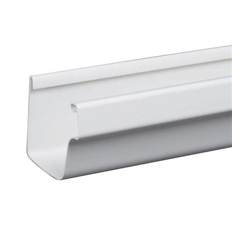 amerimax home products 10 ft white traditional vinyl