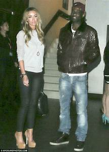 Lauren Pope and Wretch 32 enjoy date night at Playboy Club ...