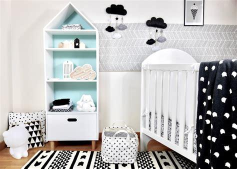 ma chambre de bebe déco chambre bébé en noir et blanc deco clem atc