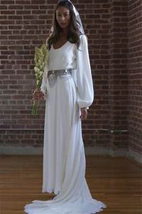 i love this gown for the classy geeky wedding of my dreams With star wars wedding dress