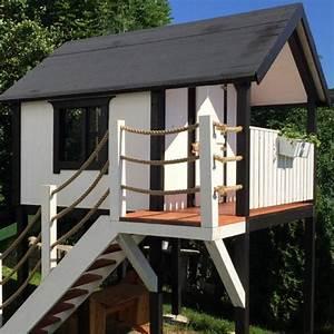 Spielhaus Mit Veranda : spielhaus bauplan spielhaus bauanleitung ~ Frokenaadalensverden.com Haus und Dekorationen