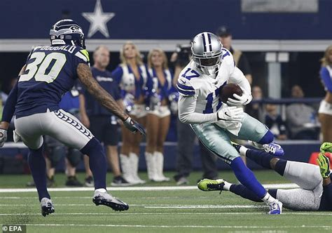 dallas cowboys wide receiver allen hurns suffers gruesome