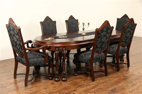 vintage dining table sold renaissance 1925 antique dining set table 3 6860