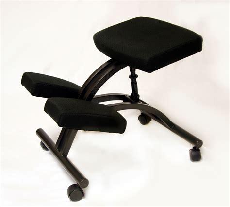 Jobri Kneeling Chair by Bp1420 Betterposture 174 Standard Kneeling Chair Black