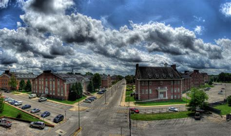 Campus Panorama, Tennessee Tech University, Cookeville, TN ...