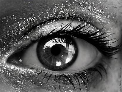 Eye Glitter Eyes Artistic Favim Silver Sparkle