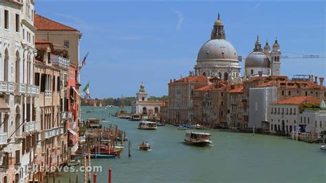 Venice Italy Grand Canal And La Salute Church Youtube