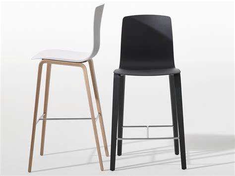 Wooden Chairs With Footrest by Aava Wooden Chair By Arper Design Antti Kotilainen