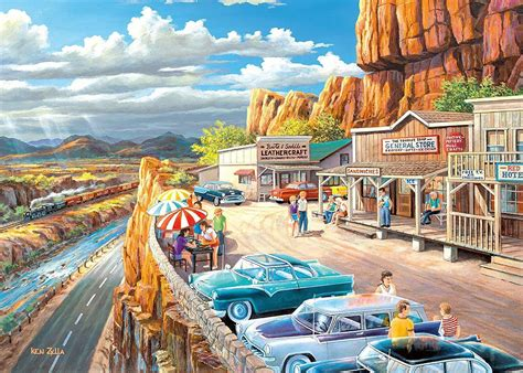 Scenic Overlook 500 Large Piece Format Jigsaw Puzzle ...