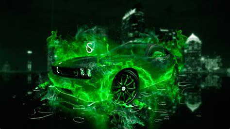 dodge challenger fire city car  el tony