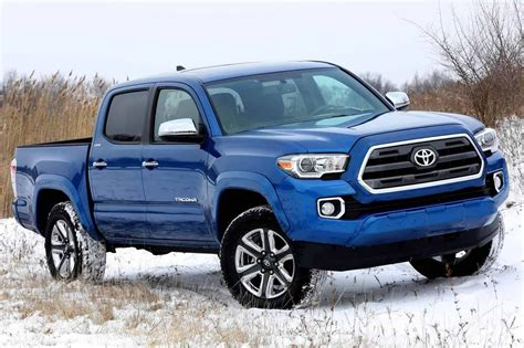 toyota trucks and new 2016 toyota tacoma is primed for mid size truck war