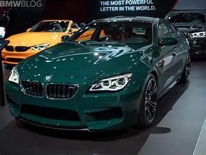 2018 NYIAS: BMW M6 Gran Coupe in British Racing Green