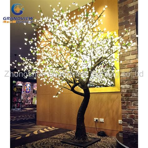 led outdoor waterproof led cherry blossom musical