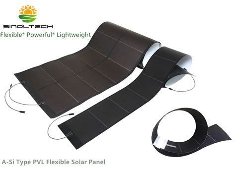 a si type pvl solar laminate