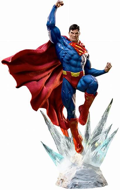 Superman Statue Iron Dc Studios Comics Prime