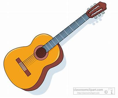 Instruments Musical Clipart Guitar Instrument Acoustic Classroom