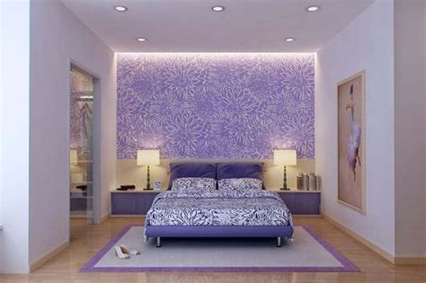 purple bedroom accent wall purple accent wall bedrooms pinterest