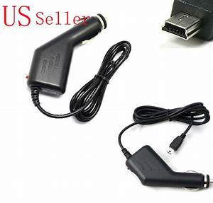 Generic Car Charger Adapter For Garmin Gtm 25 Tmc Antenna Traffic Gps Power