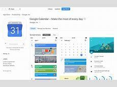 How to find google calendar app on my MacBook