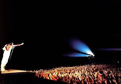 Queen Mercury Freddie Concert Crowd Wallpapers Desktop