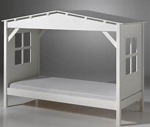 Lit Enfant Cabane : lit cabane pas cher ~ Teatrodelosmanantiales.com Idées de Décoration