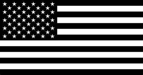 File:Flag of the United States (black and white; variant 1 ...