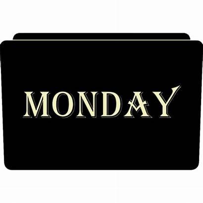 Monday Icon Week Folder Icons Sinuhe Aaron