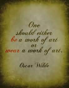 Art Work of Oscar Wilde Quote