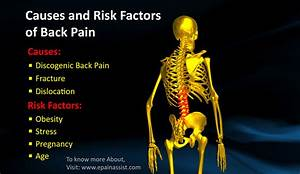 11 Causes Of Back Pain Or Backache