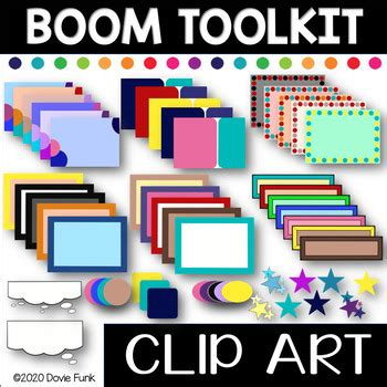 boom card creator ultimate clipart toolkit letfreedomring