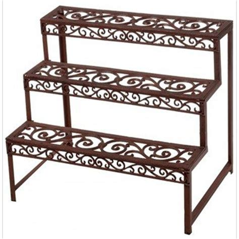 Outdoor Etagere Plant Stand by Etagere Plant Stand Rectangle The Garden Factory
